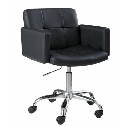 Sunpan Modern Churchill Faux Leather Office Chair