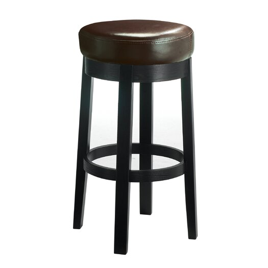 "Sunpan Modern Cedric 30"" Swivel Bar Stool with Cushion"