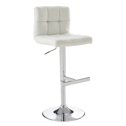 Sunpan Modern Rockwell Adjustable Height Bar Stool