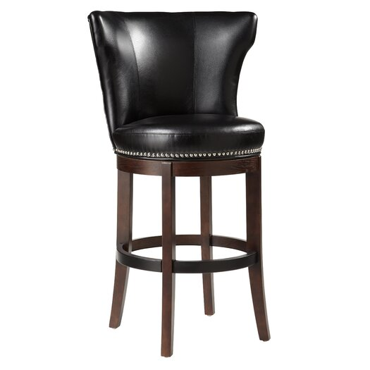 """Sunpan Modern Tavern 30"""" Swivel Bar Stool with Cushion"""