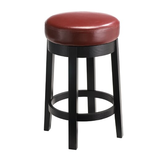 "Sunpan Modern Cedric 26"" Swivel Bar Stool with Cushion"
