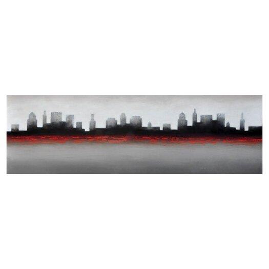 Sunpan Modern City Painting Print