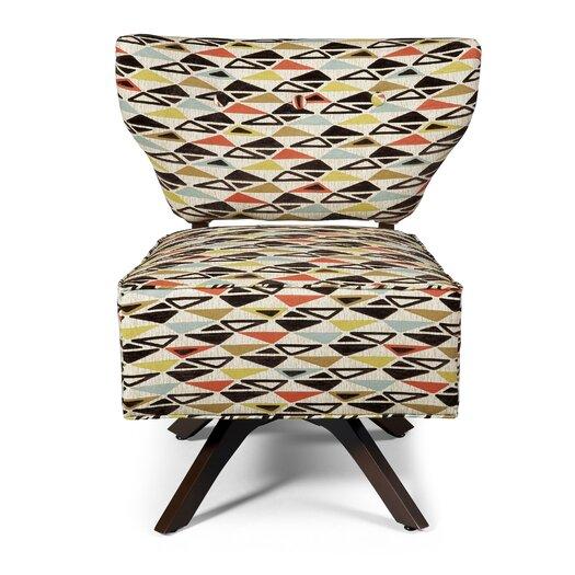 BKind3 by Lazar Sass Triad Fabric Slipper Chair