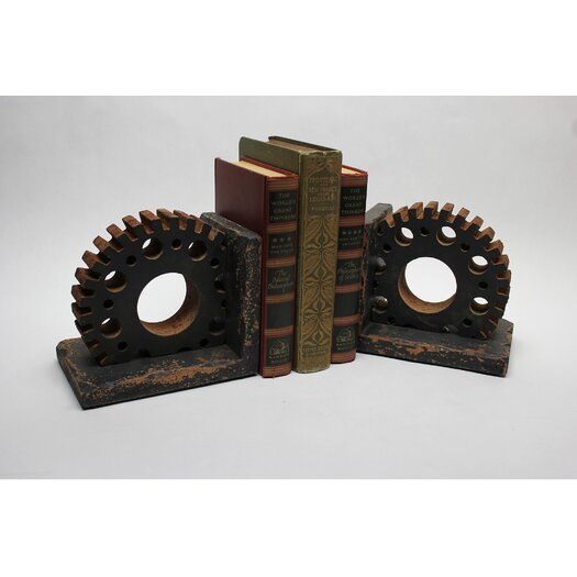 Vita V Home Gear Wooden Book Ends