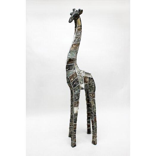 Vita V Home Mosaic Animal Giraffe Statue