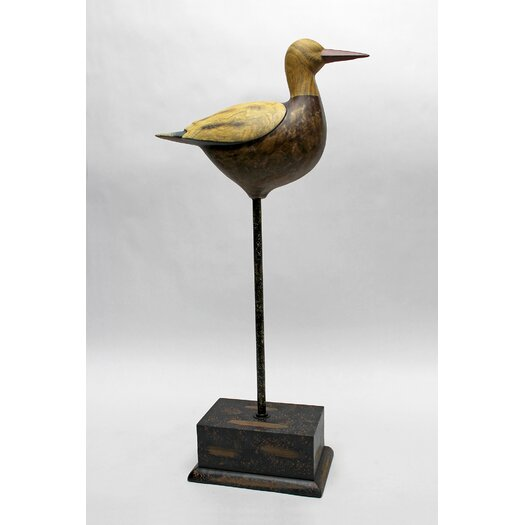 Vita V Home Shore Bird Pelican Figurine with Base