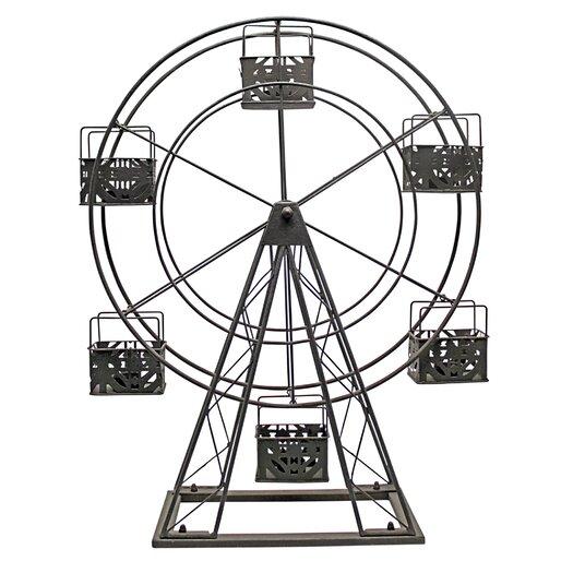 Vita V Home Ferris Wheel Metal Candle Holder