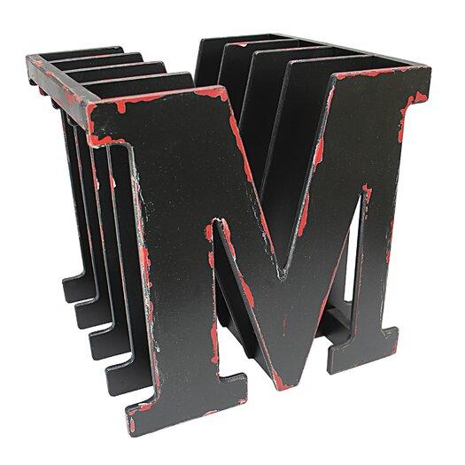 Vita V Home M for Magazine Rack - Black Finish