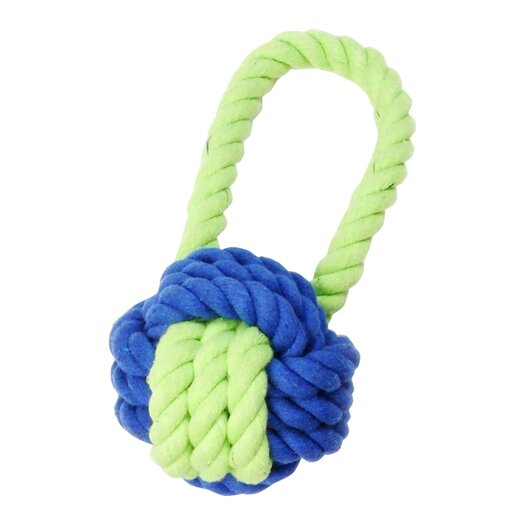 Waggo Have A Ball Rope Dog Toy