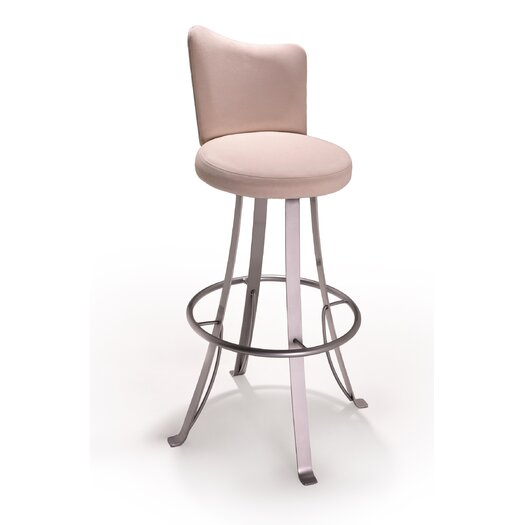 "Createch Buzz 30"" Swivel Bar Stool with Cushion"