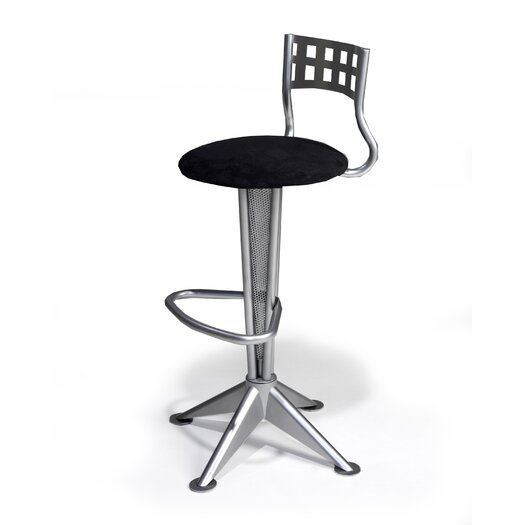 "Createch Novo 30"" Swivel Bar Stool with Cushion"