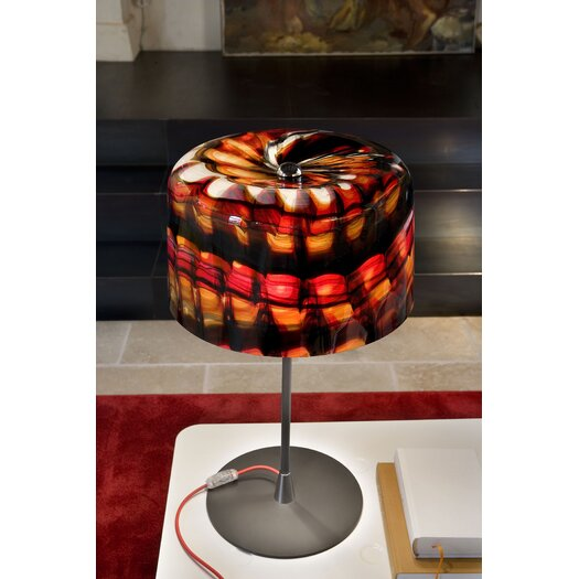 "Masiero Missia 27.6"" H Table Lamp with Drum Shade"