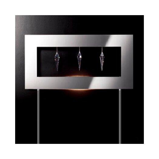 Masiero Click 1 Light 3 Crystal Floor Lamp