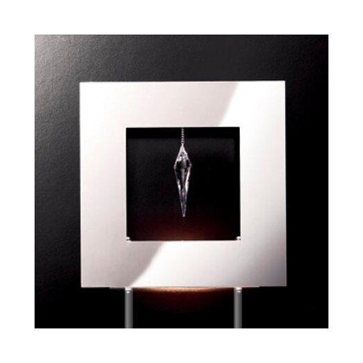 "Masiero Click 1 Crystal 13.78"" H Table Lamp"