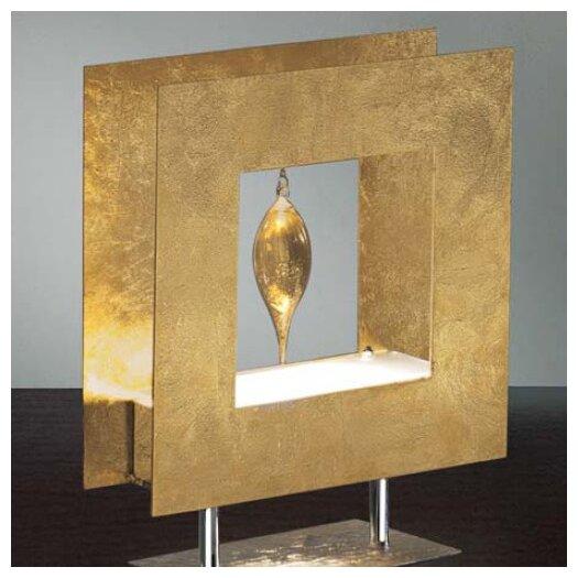 "Masiero Klok 1 Glass Drop 13.78"" H Table Lamp"