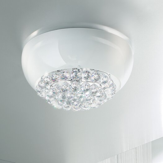 Masiero Mir 6 Light Flush Mount