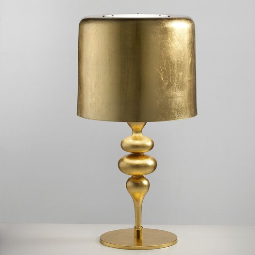 "Masiero Eva 29.6"" H Table Lamp with Drum Shade"