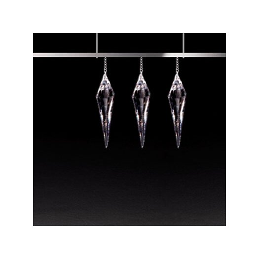 Masiero Click 4 Light 3 Crystal Pendant