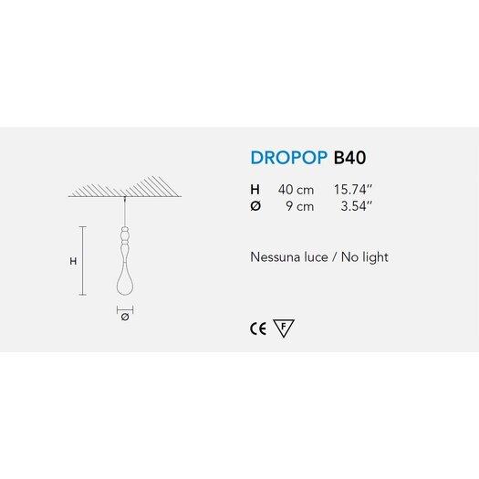 Masiero Dropop Decoration without Light