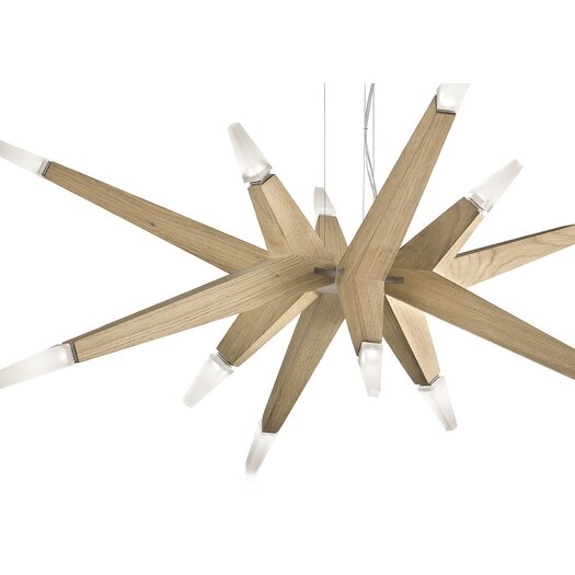 Masiero Flashwood 12 Light Pendant