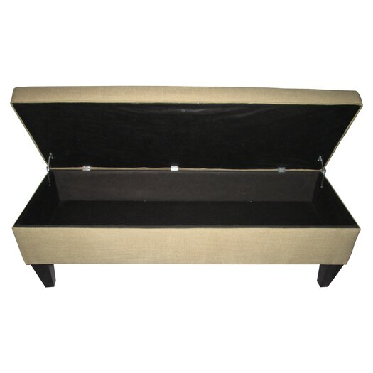 Sole Designs Brooke Upholstered Storage Bench