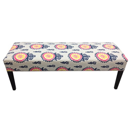 Sole Designs Calandra Cotton Crown Bench