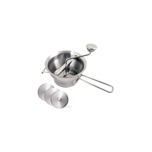 "Cuisinox 8"" Food Mill with 3 Disks"
