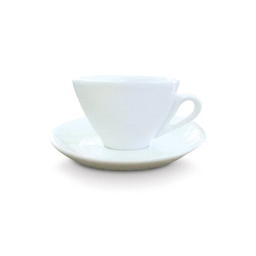 Cuisinox Pear Fruit Cappuccino Cup and Saucer