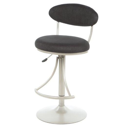 Hillsdale Furniture Venus Adjustable Height Swivel Bar Stool
