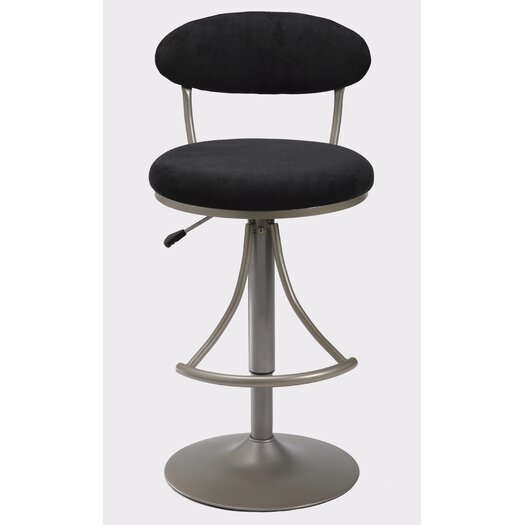 Hillsdale Furniture Venus Adjustable Height Swivel Bar Stool