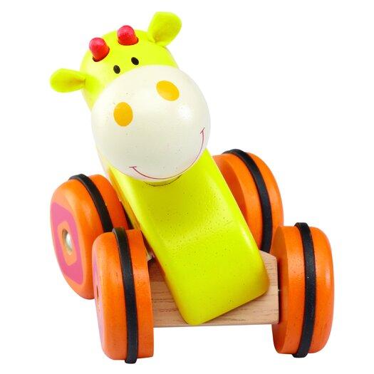 Wonderworld Giraffe Wheely Push/Scoot Ride-On