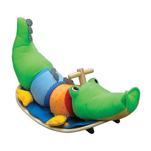 Wonderworld Rocking Crocodile Ride-On Rocker