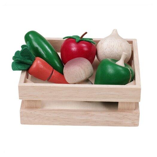 Wonderworld WonderEducation Veggie Basket Play Set