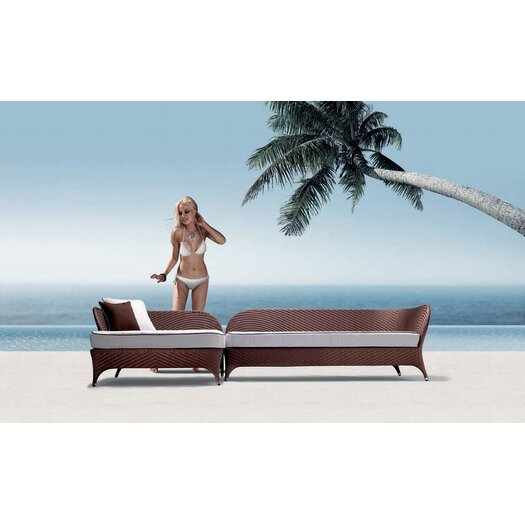 100 Essentials Flora Daybed with Cushions
