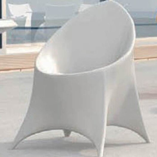 100 Essentials Trendy Dining Side Chair with Cushion