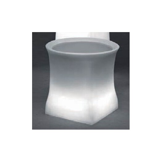 100 Essentials Brightness Illuminated Square Pot Planter