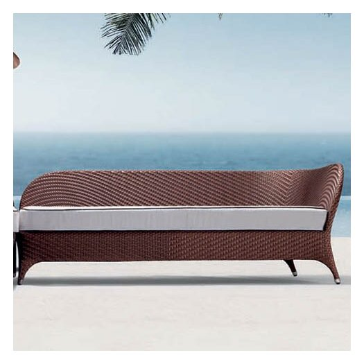 100 Essentials Flora Left Corner Daybed Sectional Piece with Cushion