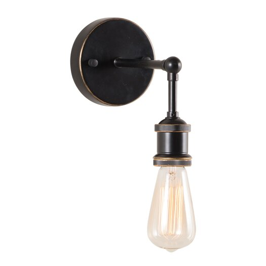 Zuo Era Miserite 1 Light Wall Sconce