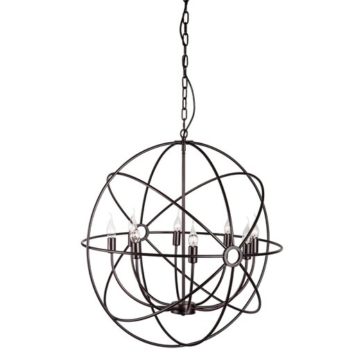 Zuo Era Helvine 8 Light Foyer Pendant