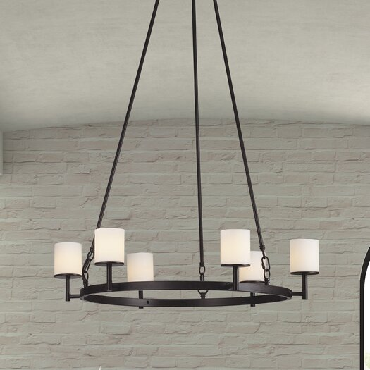 Zuo Era Gibbsite 6 Light Pendant