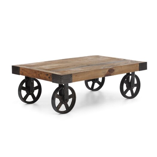 Zuo Era Barbary Coast Coffee Cart Table