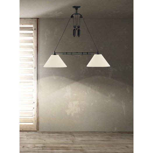 Zuo Era Agate 2 Light Ceiling Lamp