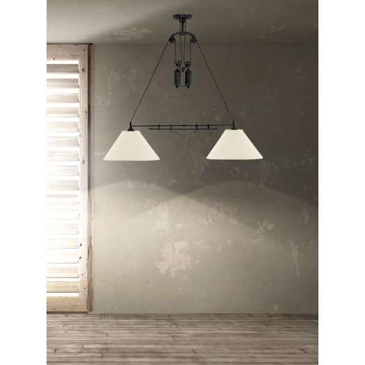 Zuo Era Agate 2 Light Ceiling Lamp