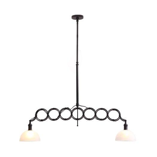 Zuo Era Jade 2 Light Ceiling Lamp