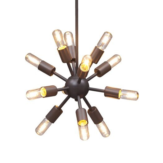 Zuo Era Sapphire 12 Light Ceiling Lamp