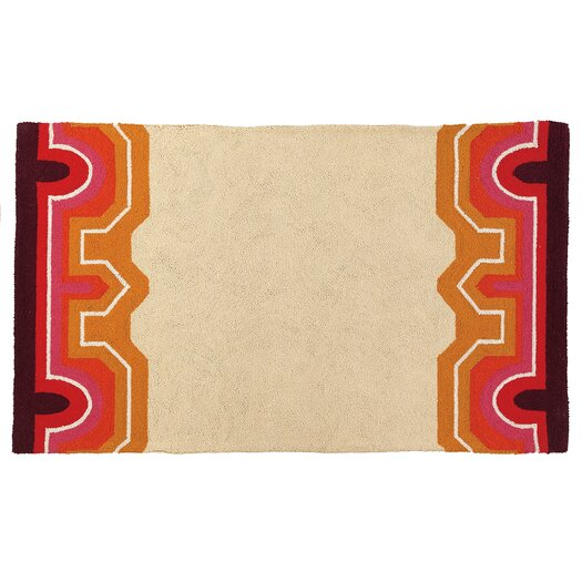 Trina Turk Residential Brawley Tan/Red Hook Area Rug
