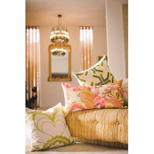 Trina Turk Residential Geometric Tile Linen Pillow