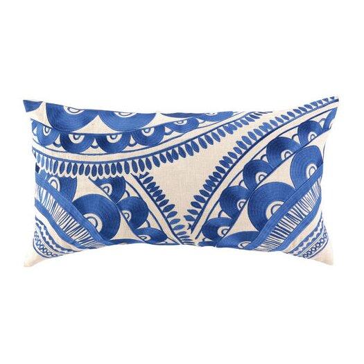 Trina Turk Residential Tribal Linen Pillow
