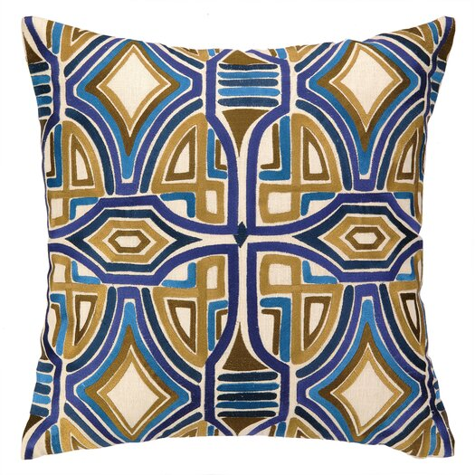 Trina Turk Residential Del Mar Embroidered Pillow
