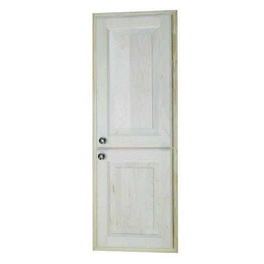 "WG Wood Products Baldwin 15.5"" x 43.5"" Recessed Medicine Cabinet"